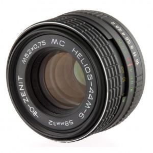 Объектив МС Гелиос 44М-6
